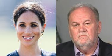 The Sad, Bizarre History Of Meghan Markle's Strained Relationship With Her Father