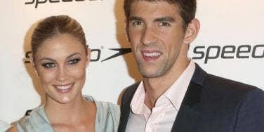 Michael Phelps & Megan Rossee
