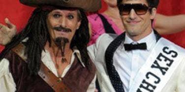 Michael Bolton and Andy Samberg