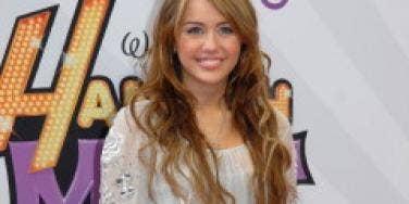 Hannah Montana star Miley Cyrus