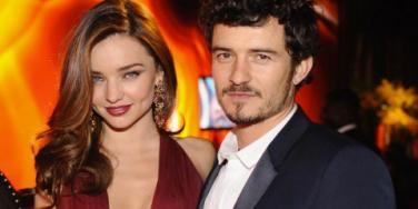 Miranda and Orlando put up a united front for their son, Flynn