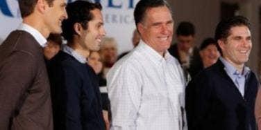 Mitt Romney and sons