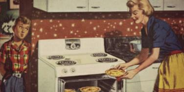 mom cooking