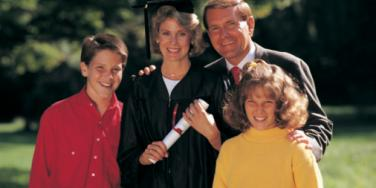 mom graduating