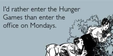 hunger games monday memes