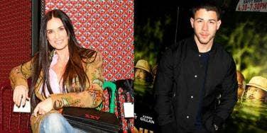 Demi Moore, Nick Jonas