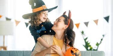mother daughter halloween