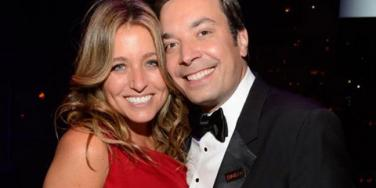 'The Tonight Show' Host Jimmy Fallon & Wife Nancy Juvonen