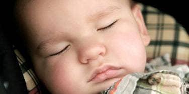 napping kid