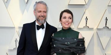 Ed Sinclair and Olivia Colman