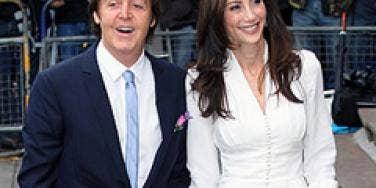 Paul McCartney & Nancy Shevell