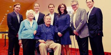 Former President George HW Bush Apologizes To Actress Heather Lind For Groping Her While Telling A Dirty Joke