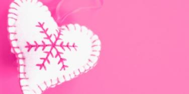 pink heart holidays