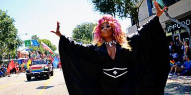 Peppermint at the LA Pride March 2019