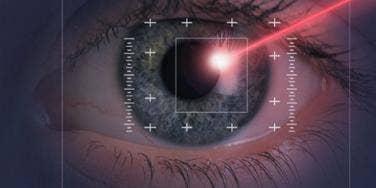 eyeball laser