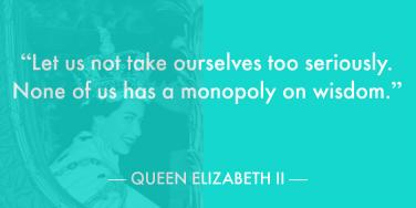 20 Inspirational Quotes About Life From Queen Elizabeth II