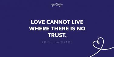 edith hamilton quote about trust