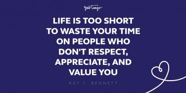 roy t bennett respect quote