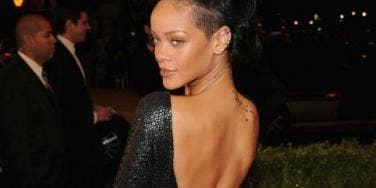 Rihanna 2012 Met Gala