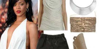 Rihanna summer date night style