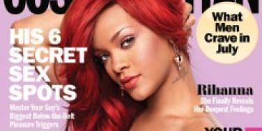 Rihanna Cosmo cover july 2011