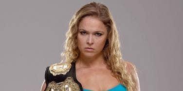 Ronda Rousey UFC MMA title belt
