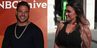 Ronnie Ortiz-Magro and Jen Harley