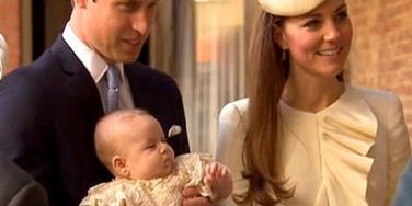 Royal Baby: Prince George's Christening: All The Details!