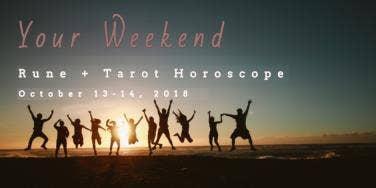 Weekend Love Rune & Tarot Horoscope Forecast, October 13-14,2018, Each Astrology Zodiac Sign