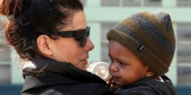 Sandra Bullock's Baby Louis Is Too Cute For Words!