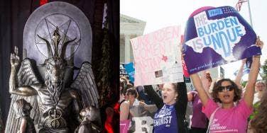 Satanic Temple Texas Abortion Law