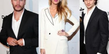 Taylor Kitsch, Blake Lively and Aaron Johnson