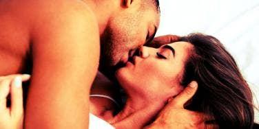 Scorpio couple in bed