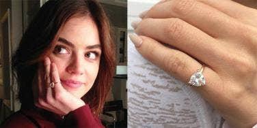 diamond pinky ring