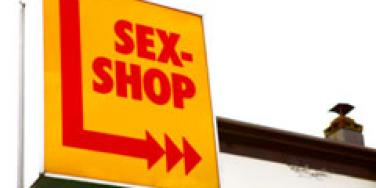 sex shop sign