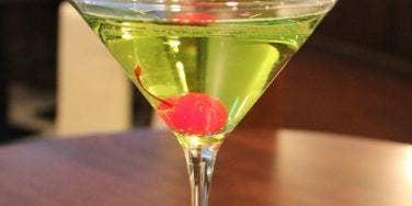 shamrock kir cocktail