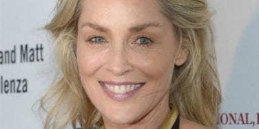 Sharon Stone up close
