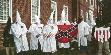 KKK rally