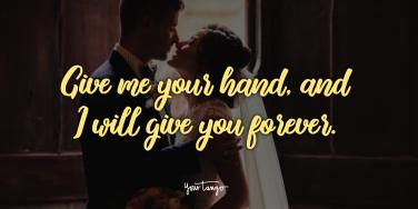 simple wedding vows