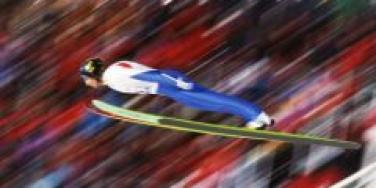 ski jump winter olympics 2010