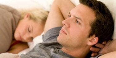 Sleep deprived couple