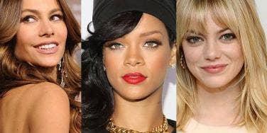Sofia Vergara, Rihanna & Emma Stone