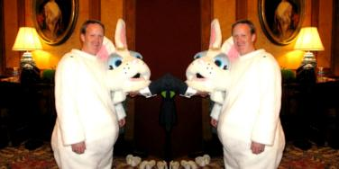 Press Secretary Sean Spicer As The White House Easter Bunny