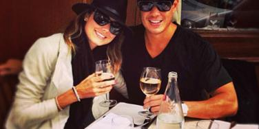 Stacy Keibler and new husband Jared Pobre