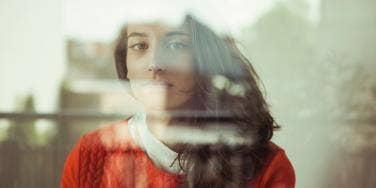 woman self-sabotaging her life