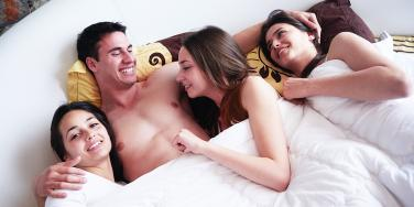 What Happened When A Polyamorous Couple Went To A Swinger Party