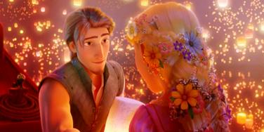scene from disney's tangled