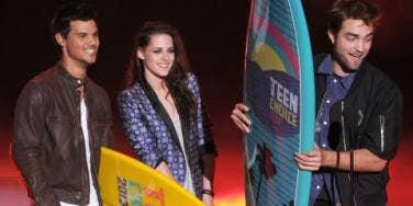Twilight cast at 2012 Teen Choice Awards