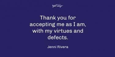 Jenni Rivera thankful quote