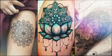 17 Best Sexy Thigh Tattoos: Ideas & Designs For Women